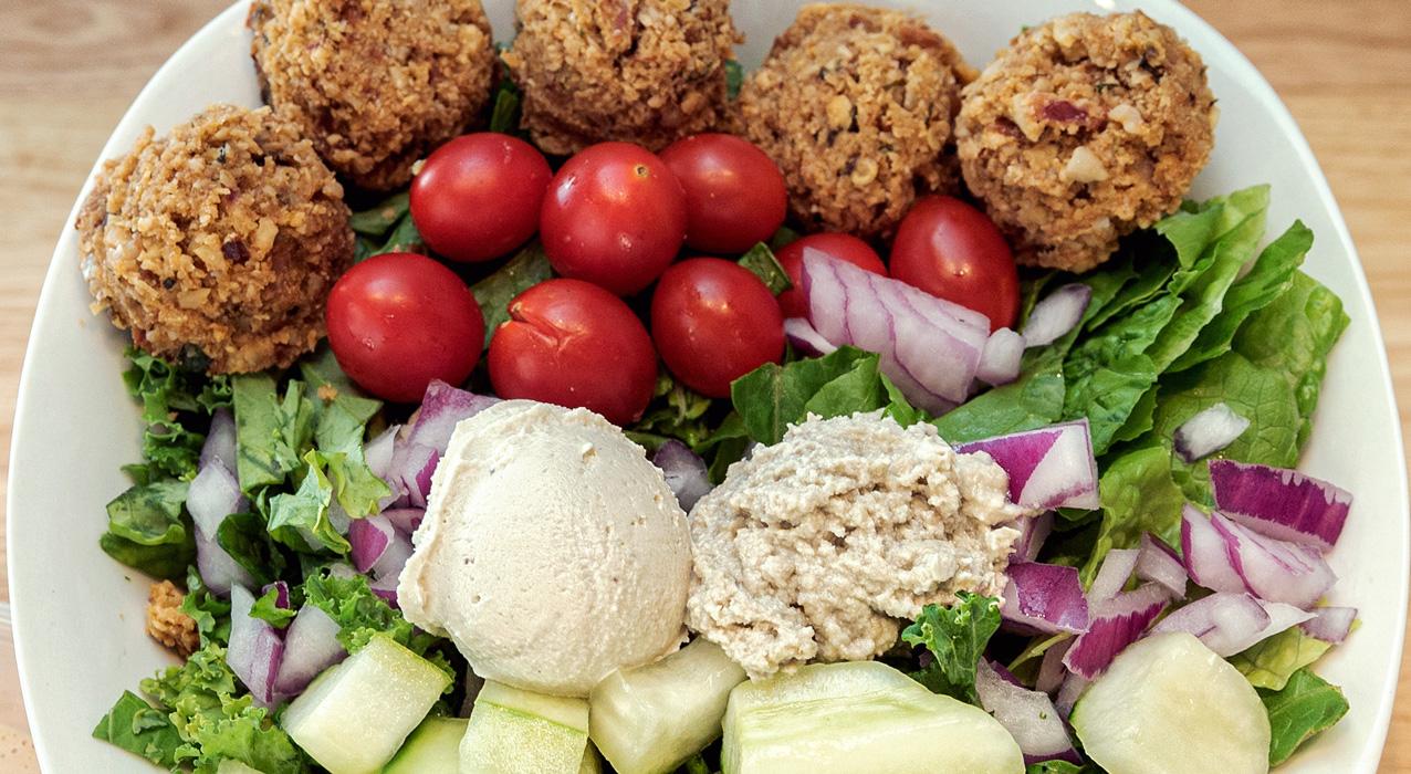 «Falafel» Hummus Bowl